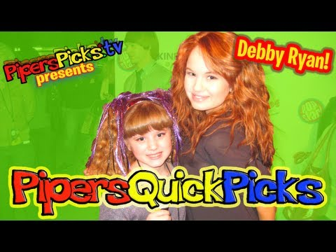 PQP #088: DEBBY RYAN Jessie Interview plus CHRIS GALYA with TWEEN REPORTER PIPER REESE