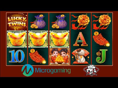 Lucky Twins Online Slot from Microgaming