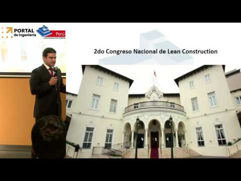 Lean Construction, una filosofía de cambio (видео)