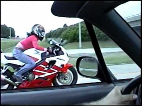 turbo del sol vs CBR 600 F4i