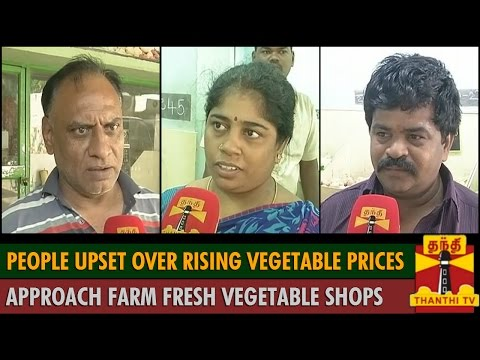 People upset over rising Vegetable Prices