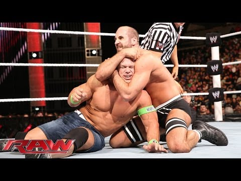 Feb. 17, 2014, John Cena vs. Cesaro: Raw