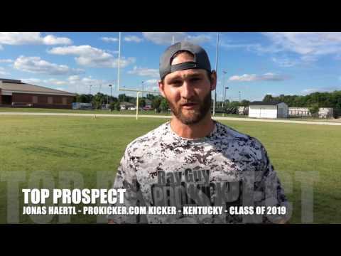 Jonas Haertl, Ray Guy Prokicker.com Top Prospect
