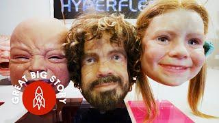 Meet the Man Creating Freakily, Disturbingly Realistic Masks