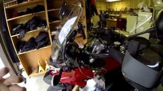 8. BMW R1200GS Upgrades---Short Rider Setup
