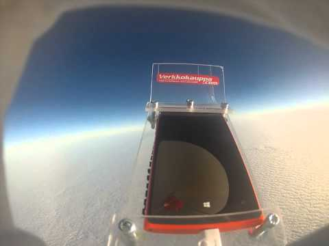 Nokia Lumia 920 Returns from Edge of Space Unharmed
