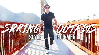 SPRING OUTFITS FOR MEN : FASHION LOOKBOOK 2015 | JAIRWOO HD