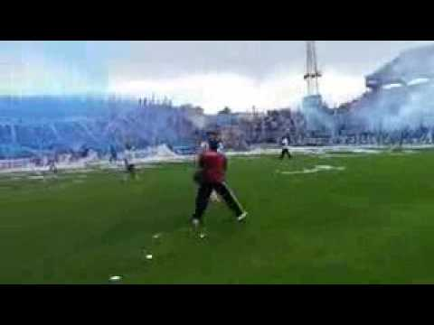 Recibimiento vs Santamarina   Atlético Tucumán 4 - 1 Santamarina - La Inimitable - Atlético Tucumán