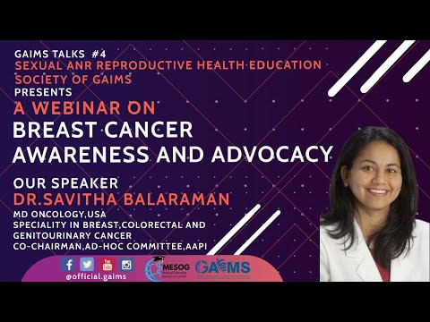 GAIMS TALKS 5 (Webinar on Breast Cancer Awareness and Advocacy)