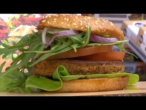 Insekten Burger im Supermarkt: Da ist der Wurm drin