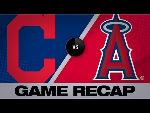 Lindor, Santana homer to lift Indians | Indians-Angels Game Highlights 9/11/19