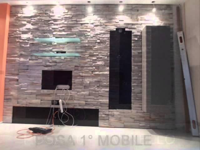 Rivestire una parete in pietra 2   virtual online reference
