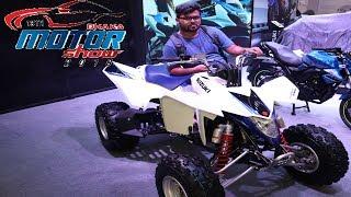 3. Suzuki QuadSport Z400 Now at Dhaka Bike Show 2018 🇧🇩 | Bike Show 2018| Suzuki QuadSport Z400 specs