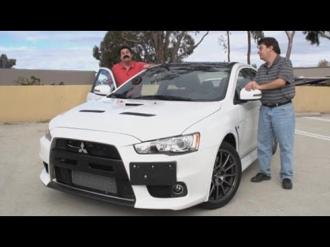 2015 Mitsubishi Lancer Evolution X Final Edition Test Drive Video Review