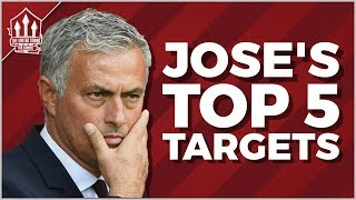 Video Jose MOURINHO's TOP 5 MAN UTD Transfer Targets 2018 MP3, 3GP, MP4, WEBM, AVI, FLV Juni 2018