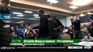 Justin Wong Talks NEC