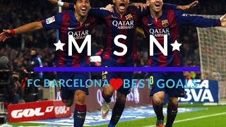Messi , Suarez , Neymar (MSN) Best goals Fc Barcelona credits: no copryrightmusic https://www.youtube.com/user/NoCopyrightSounds