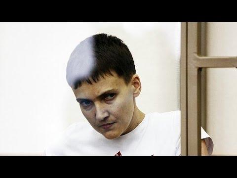 Με τον εθνικό ύμνο της Ουκρανίας «απάντησε» η Σαβτσένκο στην καταδίκη της