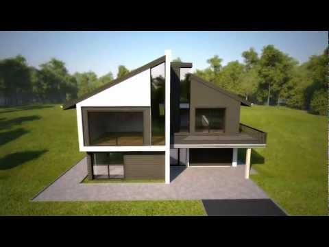 BYGGNOR FERDIGHUS, prefabricated house element kit assembling