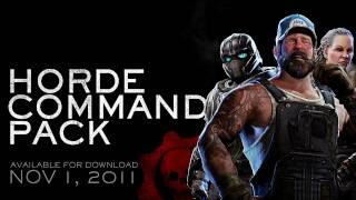 The new Horde Command Pack add-on for Gears of War 3