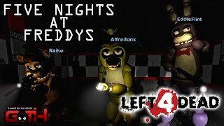 5 NIGHT AT FREDDYS APOCALIPSIS L4D2 en Español  GOTH