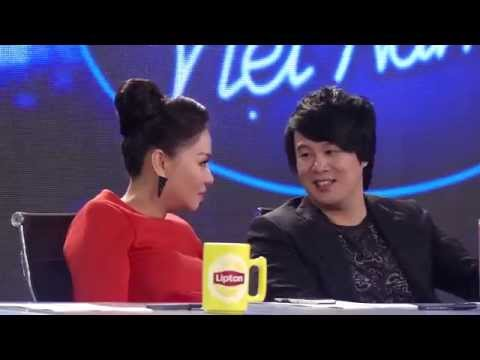 hững khoảnh khắc vui nhộn của BGK và thí sinh Vietnam Idol 2015 Tập 2