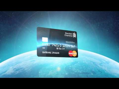 STANDART CHARTERED WORLD MILES CARD – JAPAN ver.