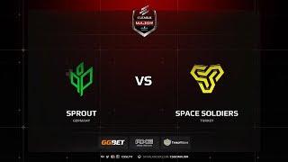 Sprout vs SpaceS, Main Qualifier, ELEAGUE Major: Boston 2018