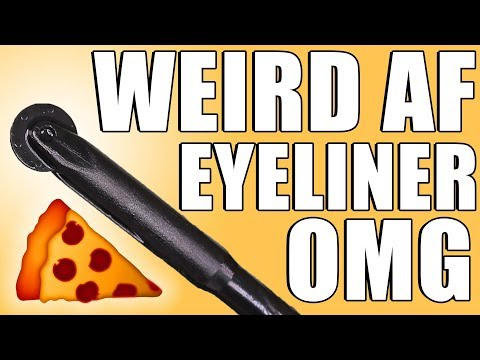 MAC ROLLER WHEEL PIZZA CUTTER EYELINER ... OMG!