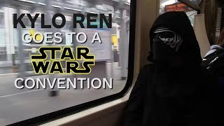 Kylo Ren Goes to a Star Wars Convention by IGN