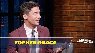 Video Topher Grace on Playing David Duke in BlacKkKlansman MP3, 3GP, MP4, WEBM, AVI, FLV Agustus 2018