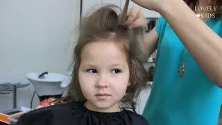 детские прически на средние волосы фото 2014
