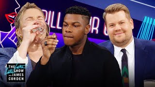 Video Spill Your Guts or Fill Your Guts w/ Drew Barrymore & John Boyega MP3, 3GP, MP4, WEBM, AVI, FLV Agustus 2019
