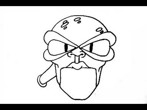 How to Draw a Alien Character - NTER - (Transmission) new video 2012