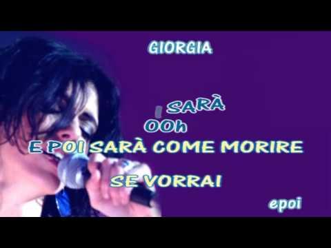 , title : 'Giorgia  E poi  Karaoke con Testo sincronizzato'