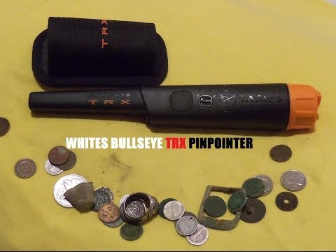 WHITES BULLSEYE TRX PINPOINTER COMPARISON AND REVIEW