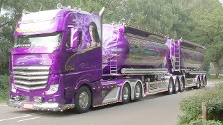 Video BIGtruck Trophy 2018 with Mika Auvinen, New Scania V8 open pipes MP3, 3GP, MP4, WEBM, AVI, FLV Maret 2019