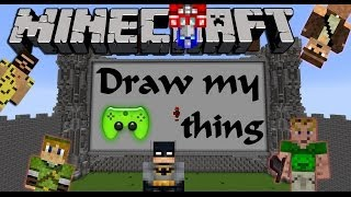 MINECRAFT DRAW MY THING # 16 - Zirkus Draw my Thing «» Let's Play Minecraft | HD
