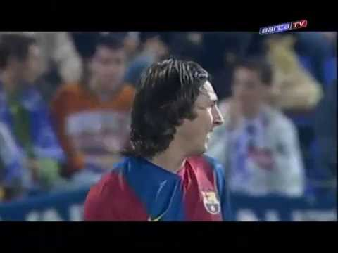 10 Goals of Lionel Messi in FC Barcelona (part 1) HD