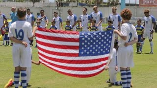 The U.S. Men's National Team eased to 3-1 win against Puerto Rico thanks to goals from Tim Ream, Bobby Wood and senior team debutant Paul Arriola in its firs...