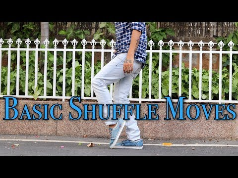 3 Basic Shuffle Moves For Beginners (Footwork Tutorial)