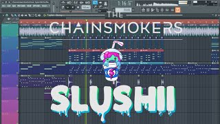 Video The Chainsmokers - Closer (Slushii Remix) [Remake + Free FLP] download in MP3, 3GP, MP4, WEBM, AVI, FLV Mei 2017
