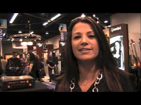 Bass Musician Magazine - Markbass News from NAMM 2013! Brought to you by BassMusicianMagazine.com.