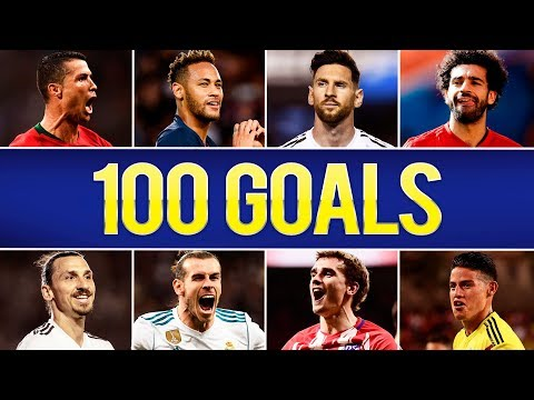 100 Incredible Goals Of The Year 2018