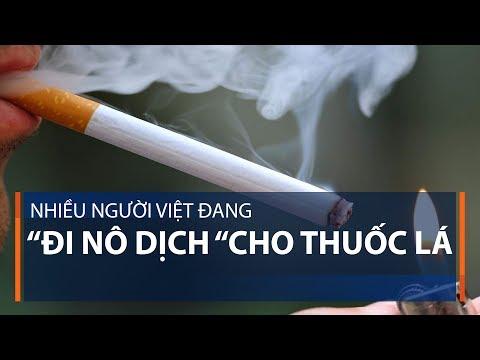 Nhiều người Việt đang 'đi nô dịch' cho thuốc lá | VTC1 - Thời lượng: 62 giây.