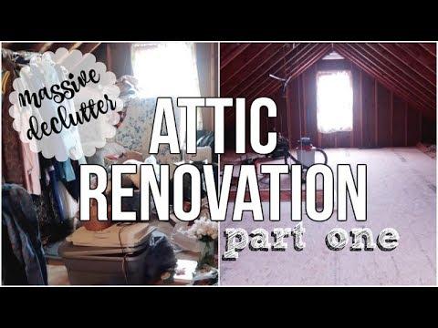 HOME RENOVATION | ATTIC INTO MASTER BEDROOM | PT. 1