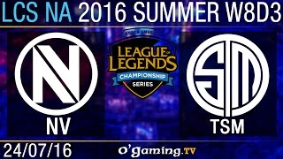 TSM vs EnVy - LCS NA Summer Split 2016 - W8D3
