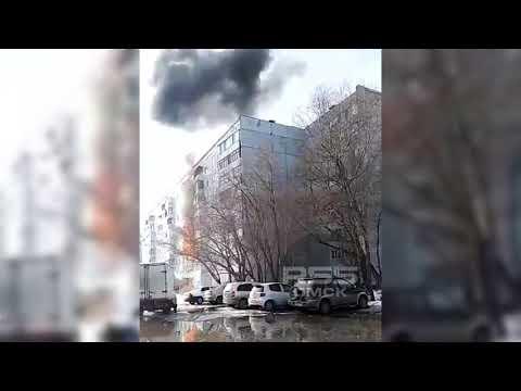 Взрыв газа на 3-й Молодежной в Омске