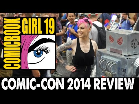 comic con - In this episode number 78, Comic Book Girl 19 goes to San Diego Comic-Con 2014 and does a lot of stuff.