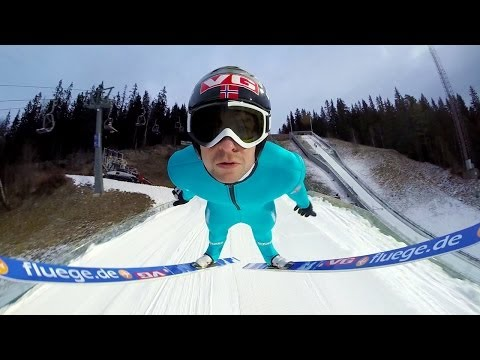 Get Up Close and Personal With a Ski Jumper in This Video